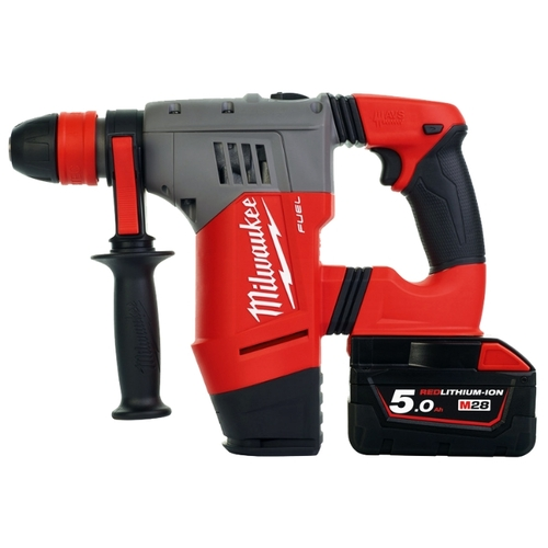Milwaukee M28 CHPX-502C 5.0Ач х2 кейс