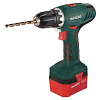 Metabo BS 12 NiCd 1.7Ah x2 Case Set F